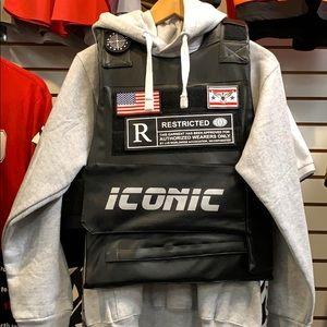 Iconic bulletproof style fashion icon style vest